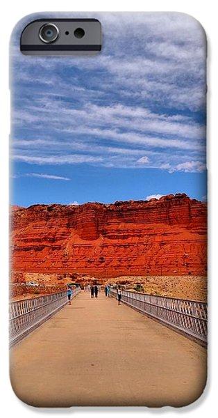Navajo Bridge iPhone Case by Dan Sproul