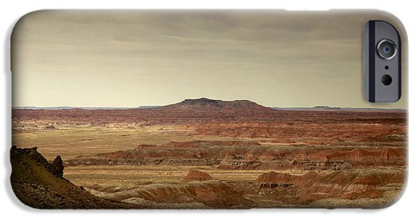 Petrified Forest Arizona iPhone Cases - Navajo Country iPhone Case by Phill  Doherty