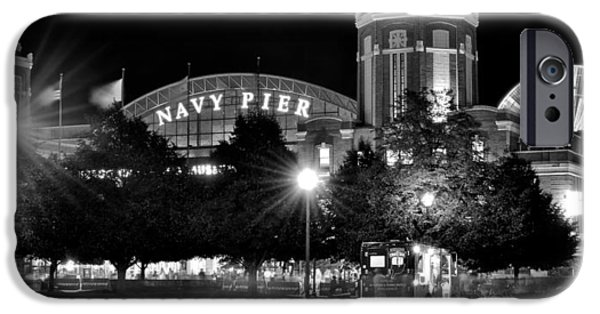 Wrigley Field iPhone Cases - Navy Pier iPhone Case by Frozen in Time Fine Art Photography
