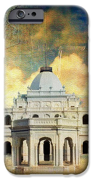 Nawab's Palace iPhone Case by Catf
