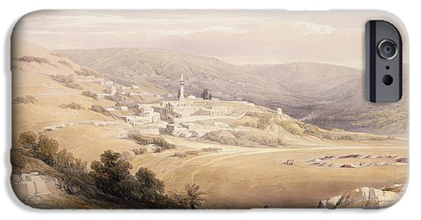 Remnant iPhone Cases - Nazareth iPhone Case by David Roberts
