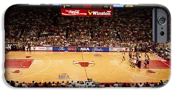 Chicago Bulls iPhone Cases - Nba Finals Bulls Vs Suns, Chicago iPhone Case by Panoramic Images
