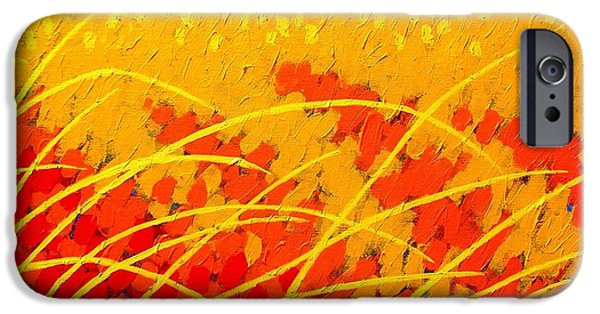 Landscape Acrylic Prints iPhone Cases - Near Carcassonne  iPhone Case by John  Nolan