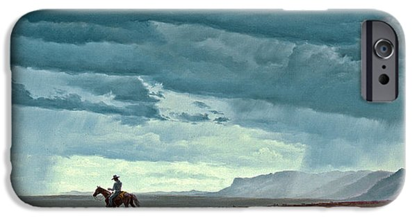 New Mexico iPhone Cases - Near Carlesbad iPhone Case by Paul Krapf