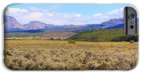 Interior Scene iPhone Cases - Near Chama New Mexico iPhone Case by Roena King