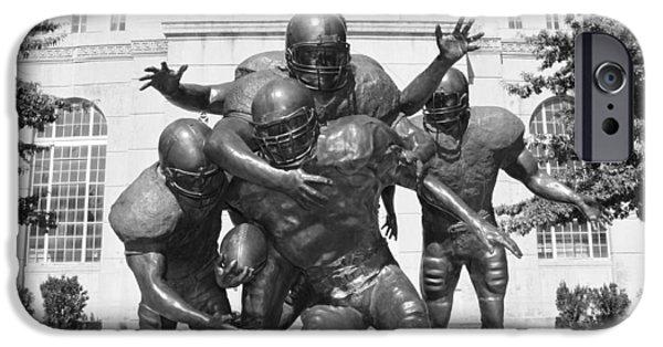 Best Sellers -  - Nebraska iPhone Cases - Nebraska Football iPhone Case by John Daly