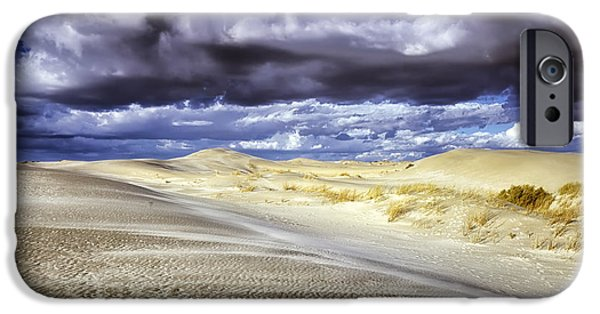 Nebraska iPhone Cases - Nebraska Sandhills Dunes iPhone Case by Mountain Dreams