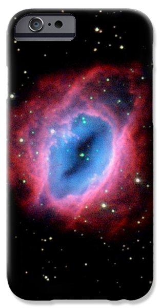 Nebula and Stars NASA iPhone Case by Rose Santuci-Sofranko