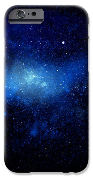 Nebula Ceiling Mural iPhone Case by Frank Wilson