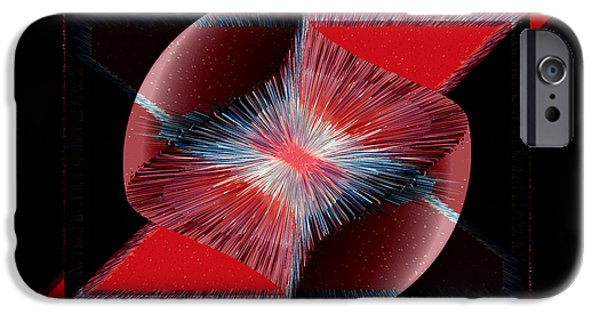 Nebulous 1 iPhone Case by Angelina Vick