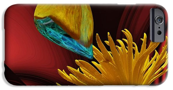 By Barbara St Jean iPhone Cases - Nectar of the Gods iPhone Case by Barbara St Jean
