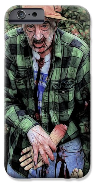 Dawn Of The Dead iPhone Cases - Need A Hand iPhone Case by Jon Volden