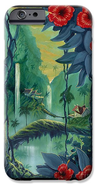 Storybook iPhone Cases - Neighbors iPhone Case by Bill Shelton