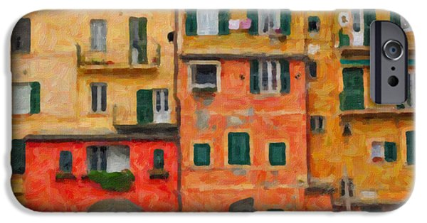 House iPhone Cases - Neighbours iPhone Case by Alessandro Martinetti