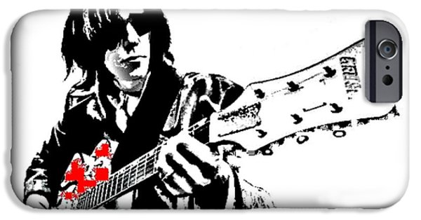 Neil Young Paintings iPhone Cases - Neil Young iPhone Case by Dave Gafford