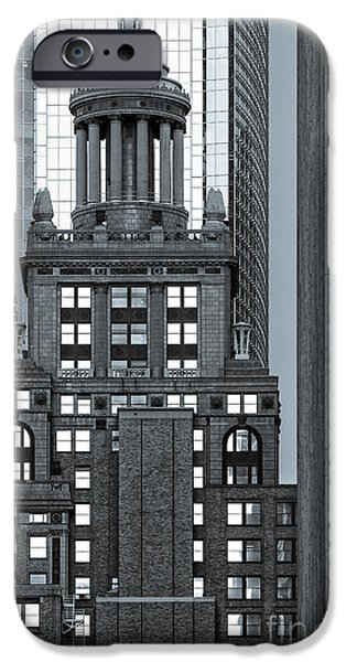 Bank Of America iPhone Cases - Neils Esperson Building in Downtown Houston - Texas iPhone Case by Silvio Ligutti