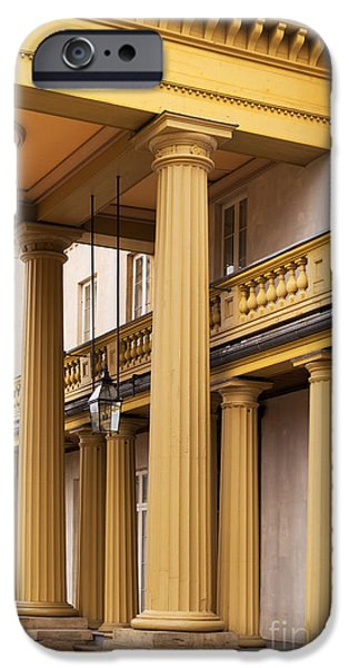 Duchess iPhone Cases - Neo Classical Columns iPhone Case by Barbara McMahon