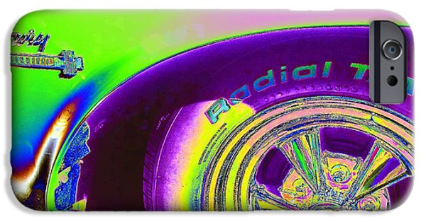 Fury iPhone Cases - Neon Fury-neon series iPhone Case by Rhonda Lee