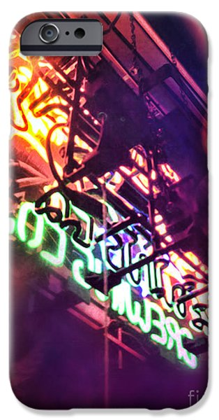 Neon iPhone Cases - Neon iPhone Case by HD Connelly