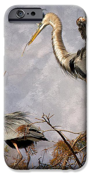 Nesting Time iPhone Case by Debra and Dave Vanderlaan