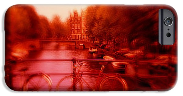 Hallucination iPhone Cases - Netherlands, Amsterdam iPhone Case by Panoramic Images