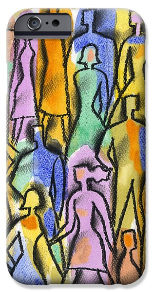 Diversity iPhone Cases - Network iPhone Case by Leon Zernitsky