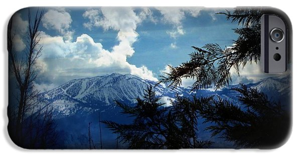 Mount Rose iPhone Cases - Nevada Blues iPhone Case by Bobbee Rickard