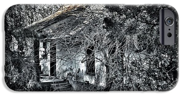 Selective Coloring Art iPhone Cases - Never Again... iPhone Case by Marianna Mills