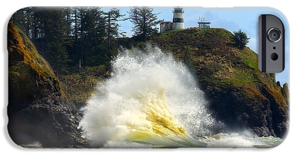 Cape Disappointment iPhone Cases - Never Disappointing iPhone Case by Ryan Manuel