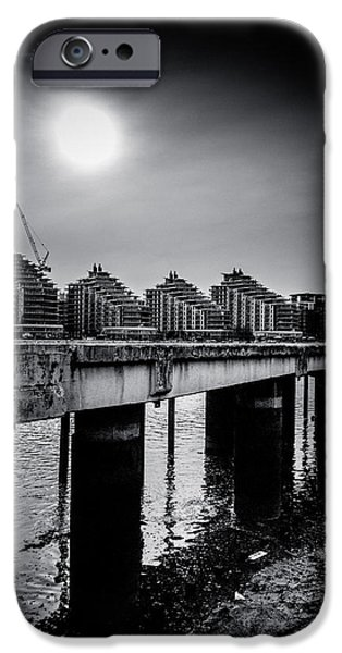 New Apartments near Battersea iPhone Case by Lenny Carter