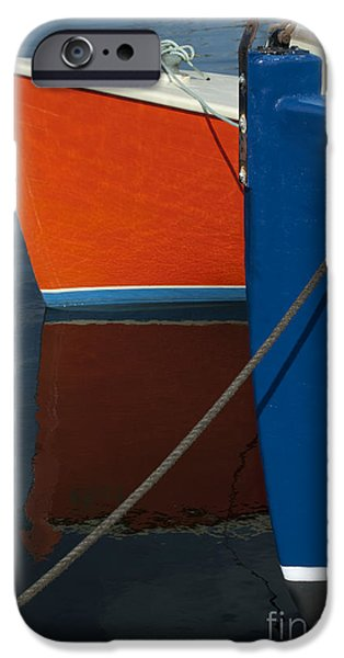 Brown Toned Art iPhone Cases - New Bedford Waterfront No. 3 iPhone Case by David Gordon