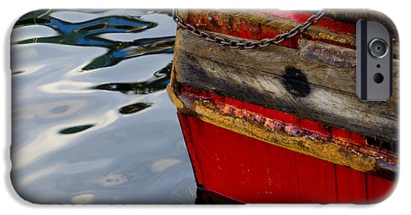 East Village iPhone Cases - New Bedford Waterfront No. 8 iPhone Case by David Gordon