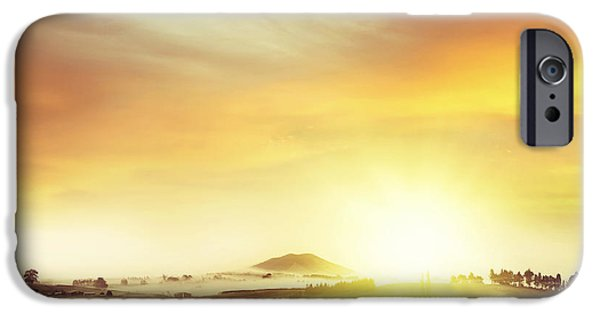 Nature Scene iPhone Cases - New beginning iPhone Case by Les Cunliffe