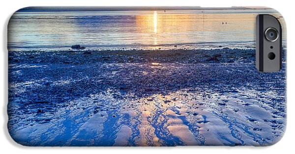 Morning iPhone Cases - New Castle Colors iPhone Case by Susan Cole Kelly