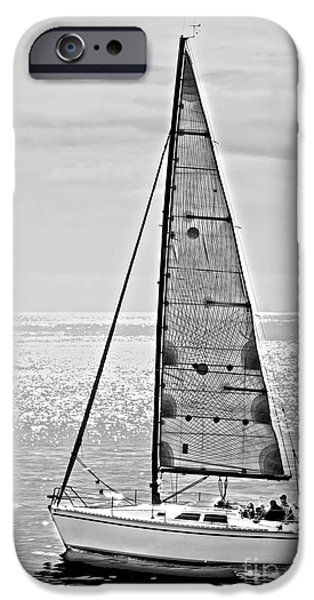 New Dawn - Sailing into Calm Waters iPhone Case by Artist and Photographer Laura Wrede