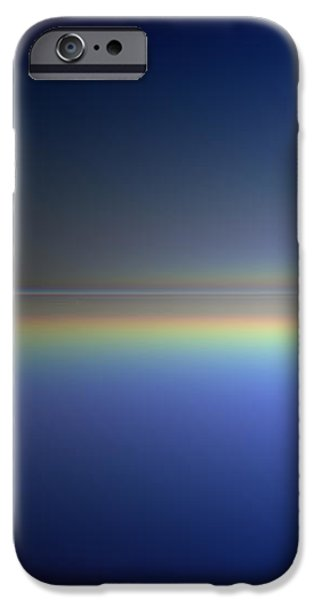 Abstract Seascape iPhone Cases - New Day Coming iPhone Case by Andreas Thust