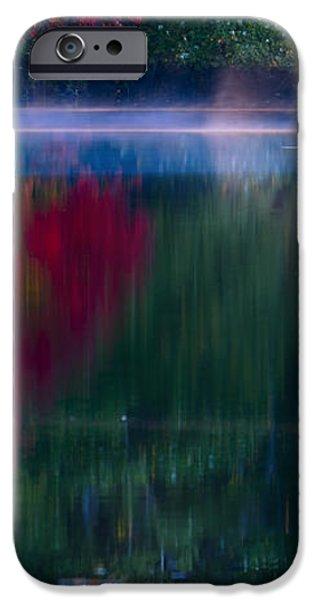 New England Fall Abstract iPhone Case by Dapixara photos