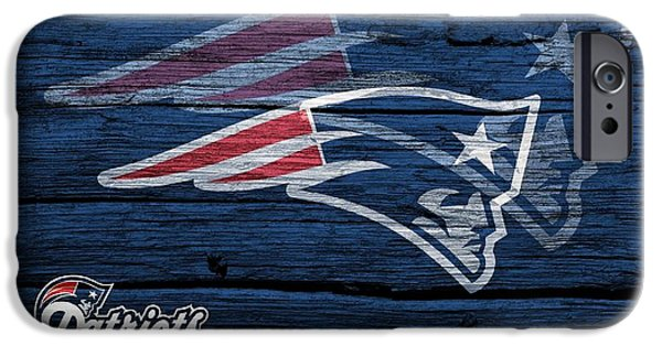 Tom Brady iPhone Cases - New England Patriots Barn Door iPhone Case by Dan Sproul