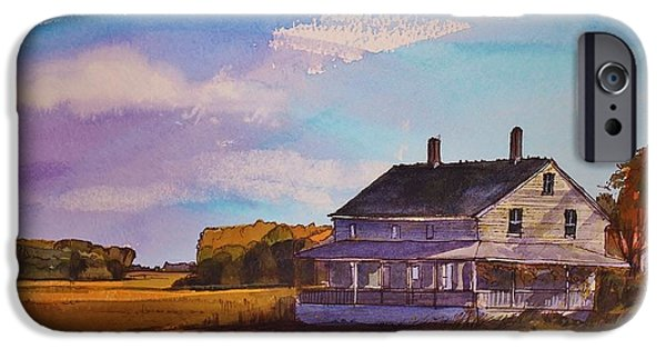 Salt Marsh. New England iPhone Cases - New England Salt Marsh iPhone Case by Bruce  Repei