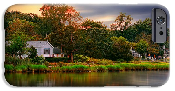Warwick iPhone Cases - New England Setting iPhone Case by Lourry Legarde