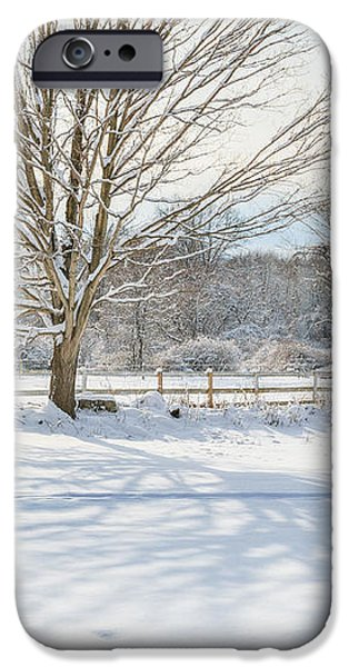New England Winter iPhone Case by Bill  Wakeley