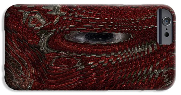 Preditor iPhone Cases - New Guy In Town iPhone Case by Jack Zulli