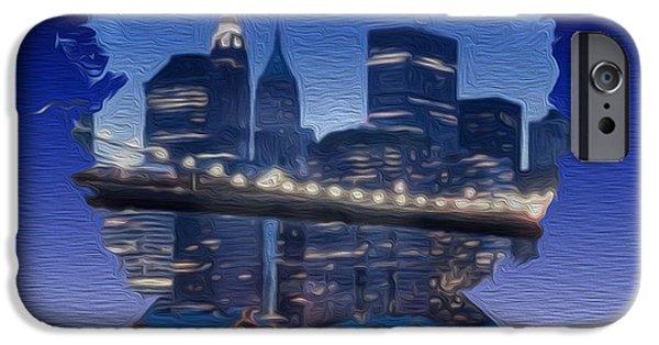 Painter Photo Mixed Media iPhone Cases - New Hendrix City iPhone Case by Jimi Bush