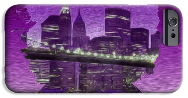 Painter Photo Mixed Media iPhone Cases - New Hendrix City v2 iPhone Case by Jimi Bush