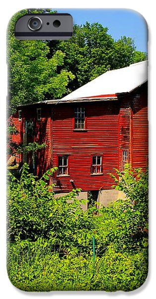 New Hope Mill iPhone Case by Dave Files