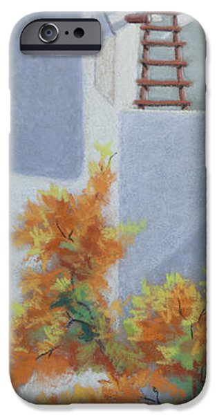 Morning Pastels iPhone Cases - New Mexico Morning iPhone Case by Tracy L Teeter
