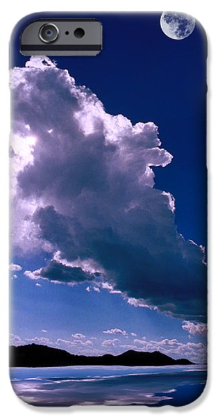 New Mexico Sky iPhone Case by Jerry McElroy