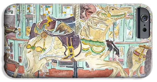 Fair iPhone Cases - New Orleans Carousel iPhone Case by Anthony Butera