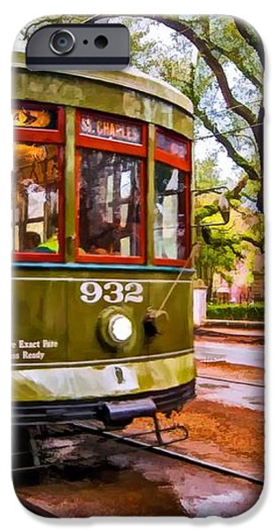 New Orleans Classique oil iPhone Case by Steve Harrington