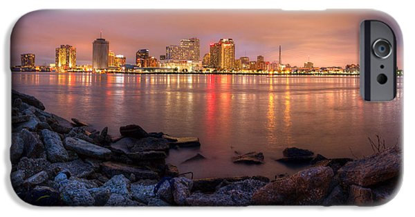 French Quarter iPhone Cases - New Orleans Skyline iPhone Case by Tim Stanley